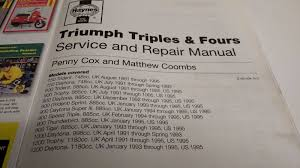 haynes manual 2162 triumph motorbike triples and fours carburettor