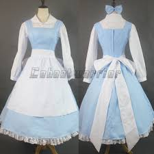 halloween aprons for adults online get cheap bell blue aliexpress com alibaba group