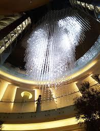 Chandelier Dubai Symphony Of Light Nulty Lighting Design Consultants