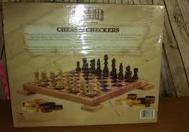 South Carolina travel chess set images Woodfield collection chess checkers set wooden board 2004 cardinal jpg