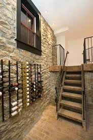 furniture chair rail with wine rack and riddling rack plus