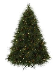 7 ft ponderosa needle pine clear prelit christmas tree christmas
