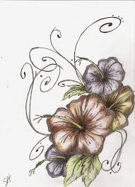 hibiscus tattoo u2013 nice flowers designs tattooshunter com
