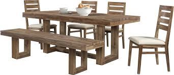 union rustic ciera 6 piece dining set u0026 reviews wayfair