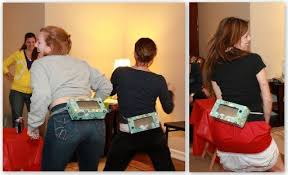 Games To Play In Christmas Parties - saran wrap christmas party game simplemost