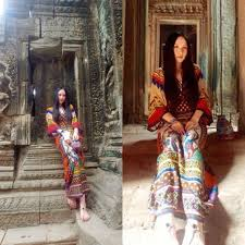 tribal colorful rainbow bright vibrant india thailand indian