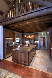 interiors for kitchen log home kitchen designs 13 log home kitchenlog home kitchens