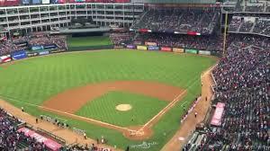 lexus box texas rangers national anthem at texas rangers global life park 4 11 15