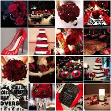 Black Gold Wedding Decorations Stunning Red And Black Wedding Themes Photos Style And Ideas