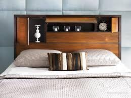 Diy Bookshelf Headboard Bedroom Headboard Shelves Bedroom Decor Diy Shelves Design With