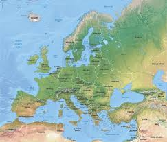 download map of continent of europe major tourist attractions maps