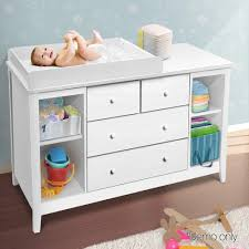White Change Table Drawer Baby Chest Change Table Dresser Cabinet White Nextfurniture