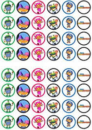 umizoomi cake toppers 24 in the city cupcake toppers co uk kitchen home