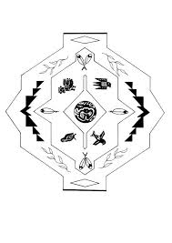 american indian coloring pages mandala coloring pages hellokids com