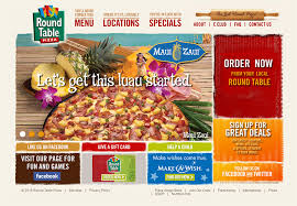 round table pizza golden valley 150 pizzeria pizza parlor websites for design inspiration