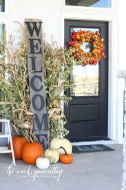 front door cool front door fall decoration for home design