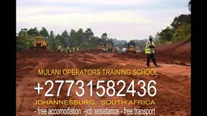 grader operator course 27731582436 mulani training south