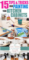 Kitchen Cabinets Without Handles Tips And Tricks For Painting Kitchen Cabinets How To Nest For Less