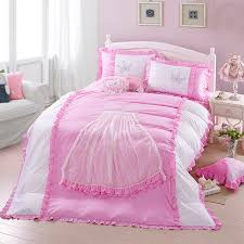 new embroidery and lace elegant fair princess cotton bedding sets