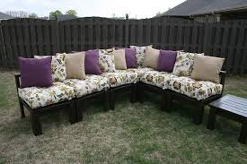 ana white outdoor sectional using 2x4 diy projects
