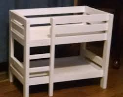 How To Make Wooden Doll Bunk Beds by 12 Inch Doll Bunk Bed With Mattress 094