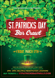st patricks day bar crawl mar 17th u2013 common wealth old city