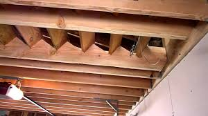 Loft In Garage Hinged Stairs Youtube