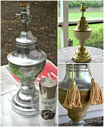 spray paint brass lamp decoration ideas collection best and spray