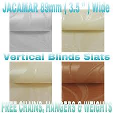 Vertical Blind Slat Pack Vertical Blind Slats Amazon Co Uk