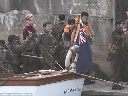 dunkirk bbc film cillian murphy and harry styles film scenes for dunkirk in weymouth