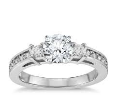 Promise Ring Engagement Ring And Wedding Ring Set by