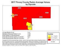 Wichita Zip Code Map County Map Kansas Radon Program