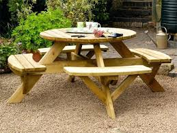 round picnic tables for sale round picnic table livingonlight co
