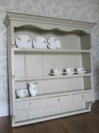 Kitchen Wall Shelving by Shabby Chic French Country Style Rustic Painted Kitchen Wall Shelf