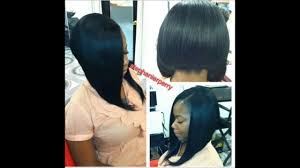 latest bob cut hairstyle celebrity style sew in weave extension bob cuts youtube