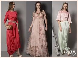 5 indo western fashion trends for diwali by label surabhi arya