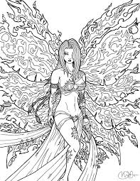 valuable inspiration fairy coloring pages adults 25 fairy
