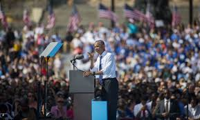 President Obama Resume With Clinton On Sideline Obama Blasts Trump As U0027not Fit In Any