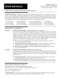 sample resume for oil and gas industry resume oil gas industry