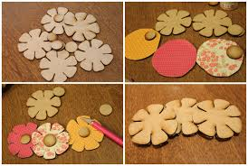 wooden flowers simple diy wreath decor lowescreator