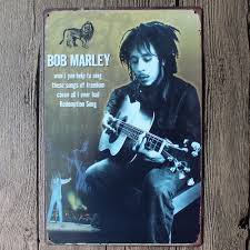 aliexpress com buy bob marley metal painting wall bar home art