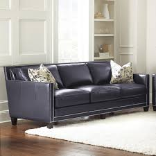 magnificent navy leather sofa with sofa interesting navy leather