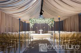 draped ceiling draping ceiling canopies from eventure designs toronto