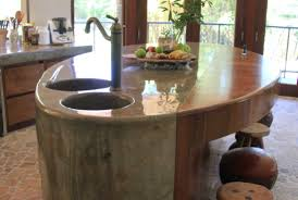 handmade kitchen islands the round house natural modern interiors