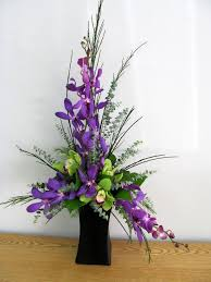 Orchid Flower Arrangements Appealing Designer Artificial Flowers And Silk Artificial Orchid