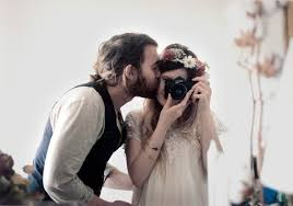 maud chalard and theo gosselin analog couple love lovers kiss