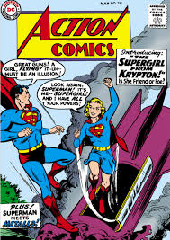comics supergirl younger superman older science