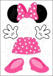 minnie mouse pink parts for state room disney cruise door