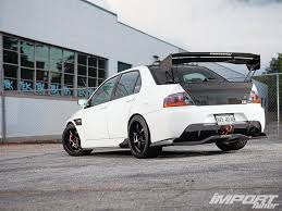 2005 mitsubishi lancer evolution mr import tuner magazine