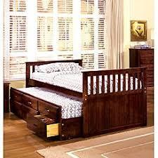 Bunk Bed With Trundle Kids U0027 Beds Kids U0027 Bunk Beds Sears